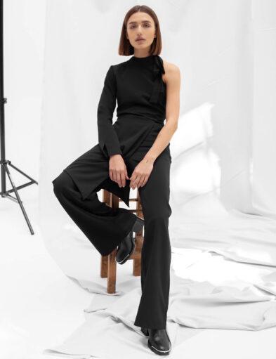 Black Classy Jumpsuit
