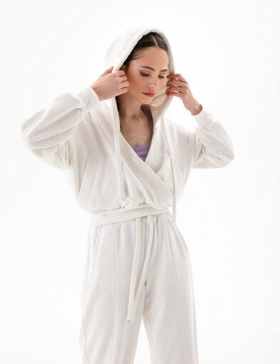 White Sweatsuit